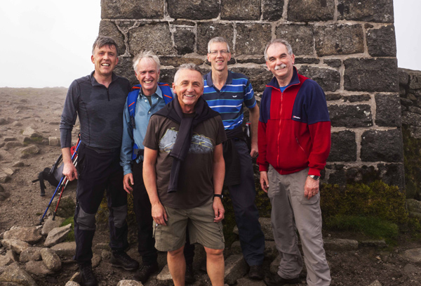 Coleraine hikers overcome Seven Seven's Challenge