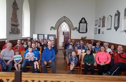 Mossley Parish Ramblers visit Rathlin