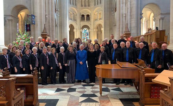 San Diego Presbyterian Chorale visits St Anne's