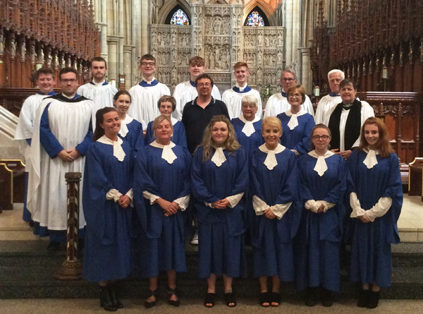 St Polycarp's Choir leads worship in Truro Cathedral