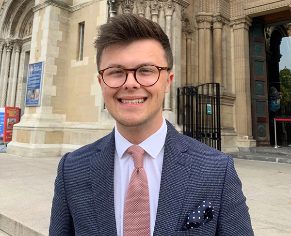 Former Organ Scholar appointed Assistant Organist