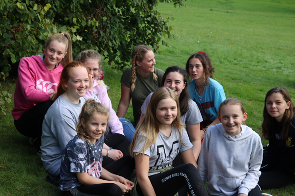 Sun shines on fantastic youth weekend