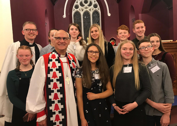 Confirmation and Baptism in Ballyclare