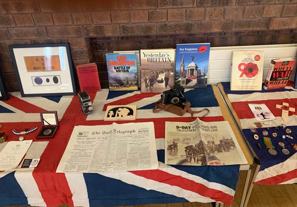 Remembrance video and exhibition at Holy Trinity Woodburn
