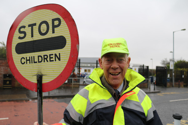 Ivan (78) is Belfast's favourite lollipop person!