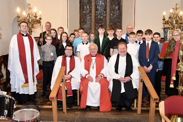Joint Confirmation Service in St Cedma's