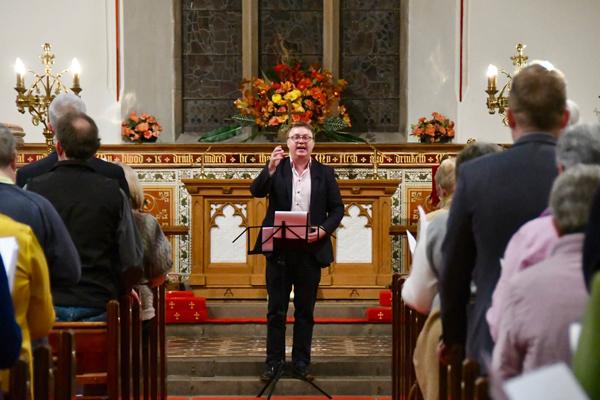Uplifting Songs of Praise in St Cedma's, Larne