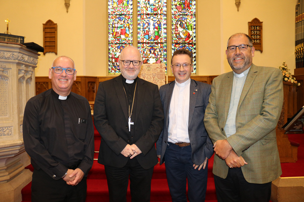 Clergy 'refreshed and challenged' at quiet morning