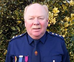 Honour for long-service CLCGB Captain