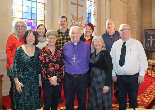 A letter of thanks from Bishop Alan