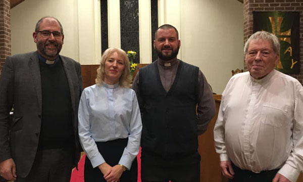 New priest-in-charge in Greenisland