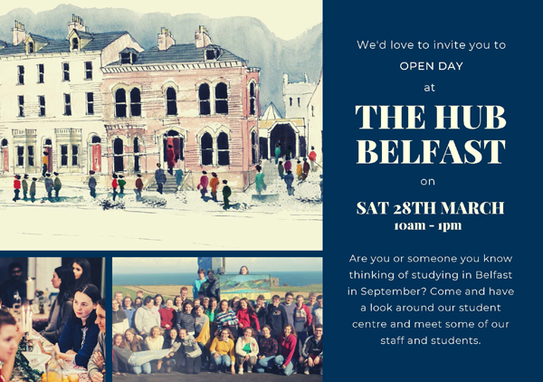Open Day at The Hub, Belfast