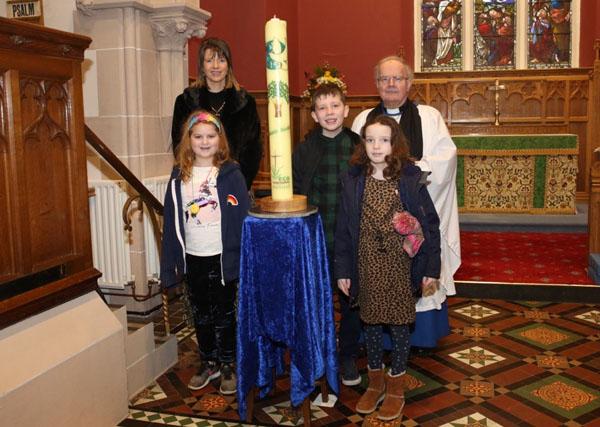Climate Justice Candle visits Kilbride Parish