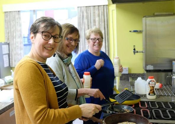 400 enjoy free pancakes in Ballyclare!