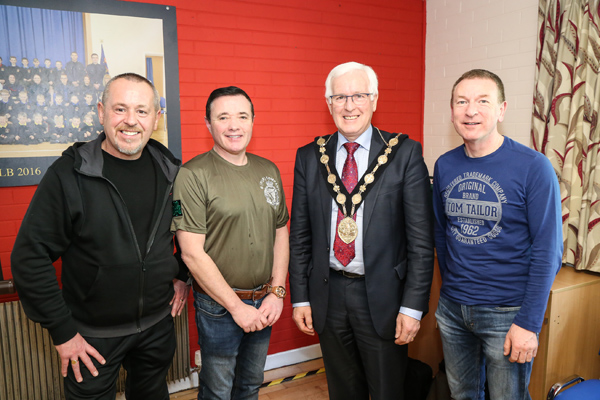 Men come together for breakfast in St Paul's, Lisburn