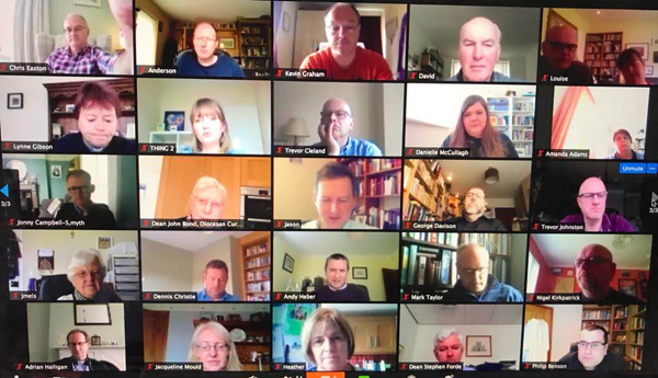Connor clergy connect in virtual conference