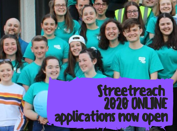 Streetreach Online open for applications