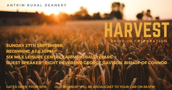 Antrim Rural Deanery holds drive-in Harvest Celebration