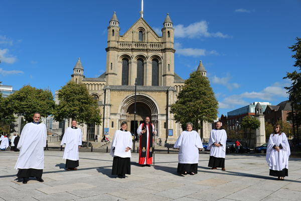 Ordination of six new deacons for Connor Diocese