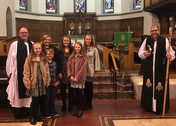 Service of Introduction in St Nicholas', Belfast