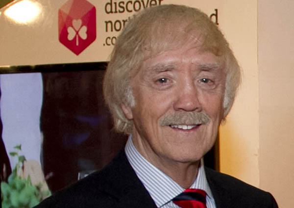 Mervyn awarded MBE for services to the economy