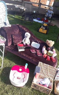 Teddy Bear's picnic – the sun shone on Aurelia's first appeal.