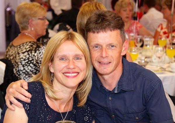 Connor Children's Project Development Officer Jill Hamilton and her husband, the Rev Geoff Hamilton.