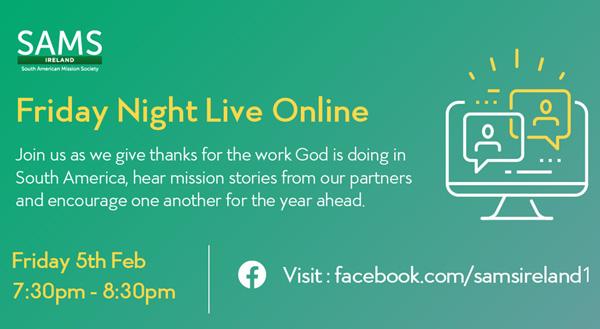 SAMS Ireland 'Friday Night Live' video premiere