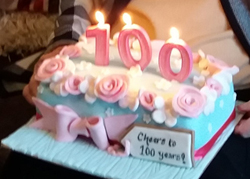 'God has been good to me' says Doreen (100)