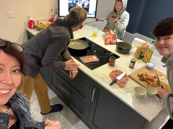 Family feasts in Ballyclare