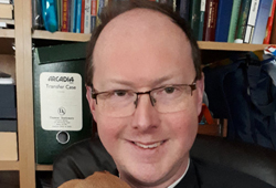 Funeral service for the Rev John Anderson held in Derrykeighan