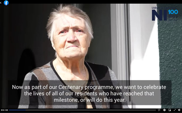 Video celebrates Doreen's 100 years