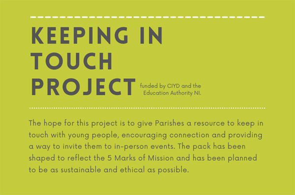 'Keeping in Touch' – new sustainable, ethical resource for young people