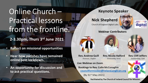 Council for Mission webinar on future of 'Online Church'