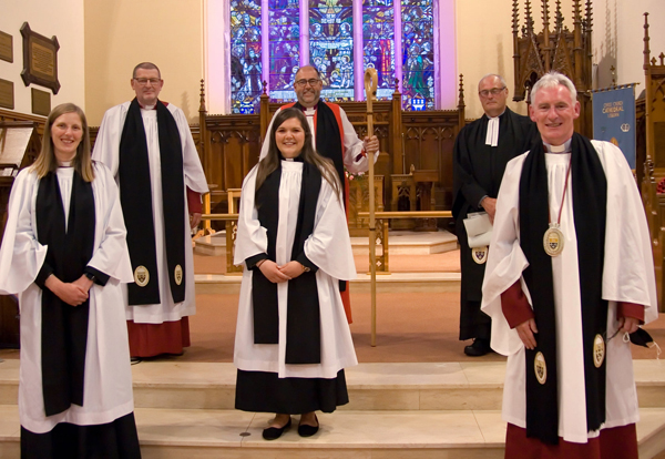 Institution of vicar of Lisburn Cathedral