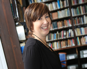 Deirdre Cartmill is Belfast Cathedral's first Writer in Residence