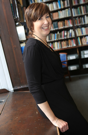 Deirdre Cartmill, Writer in Residence at Belfast Cathedral.