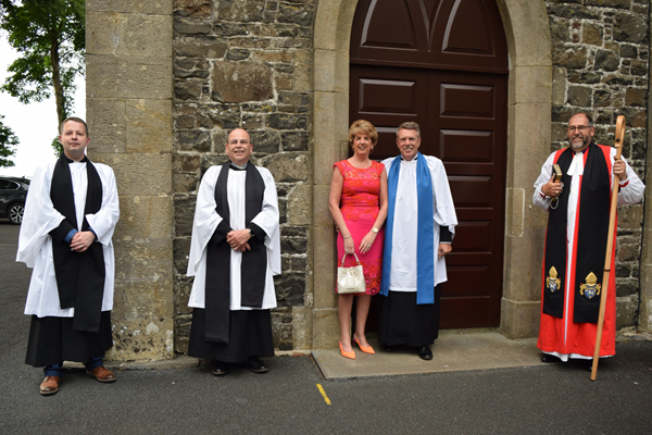 Commissioning of Lay Reader in Ballinderry