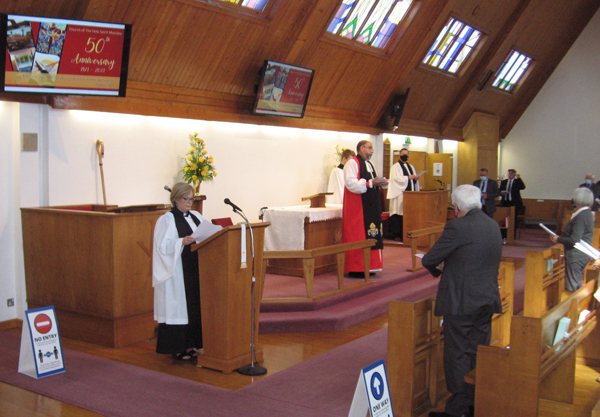Anniversary thanksgiving services in Mossley