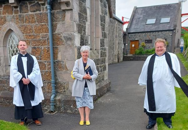 Parish Reader commissioned in Larne