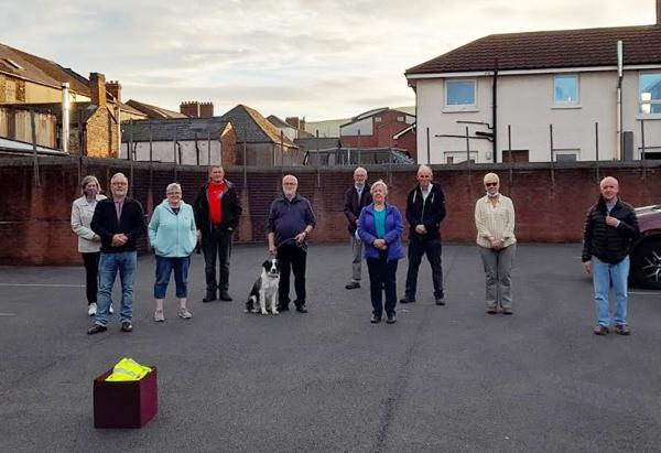 Monthly prayer walk resumes in north Belfast