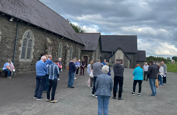 Ballynure churches come together for prayer walks