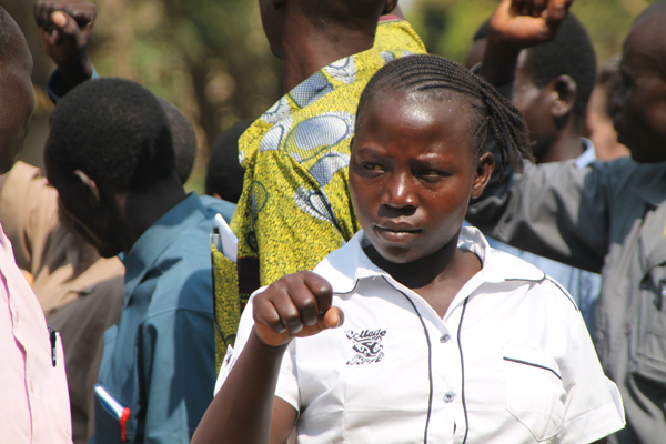 Training for church leaders, run by a Connor team in Yei in January 2013.