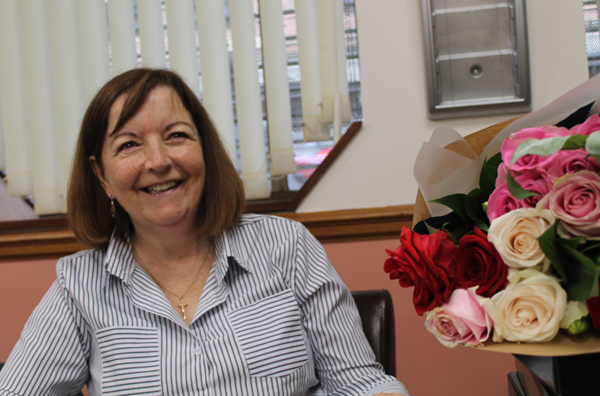 Church House says farewell to receptionist Margaret