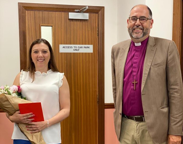 Helen says farewell after 25 years in Church House