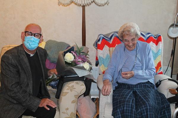 Bertha celebrates 100th birthday