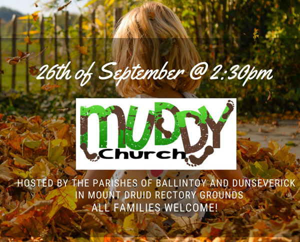 Get your wellies on for Muddy Church!