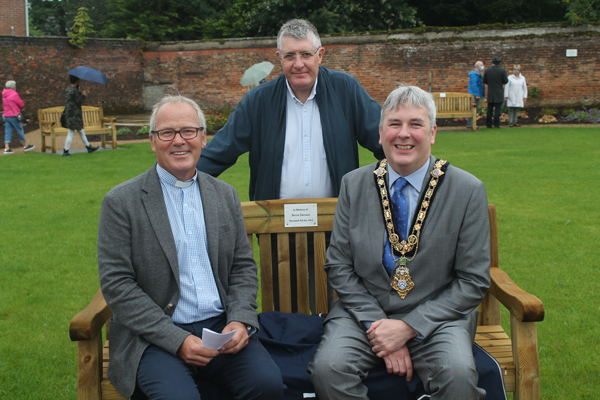 A space for the whole community – opening of Ballymoney Quiet Garden