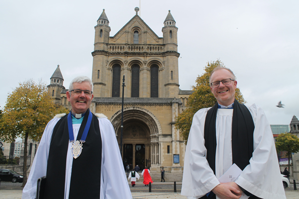 Installation of Precentor at Belfast Cathedral