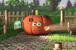 Pumpkin Heroes – free resource for churches and families